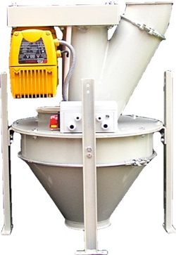 Rotor Weigher - Online continuous weighing of flours and powders