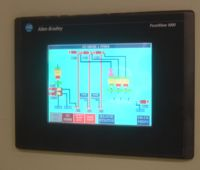 Rice Mill Control Panel